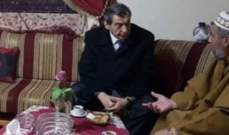 الفرزلي زار الشيخ حيمور مهنئا بانتخابه نائبا لأمين عام الجماعة الإسلامية