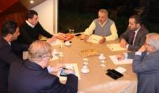 ارسلان:لإخراج ملف النازحين من التجاذب السياسي كونه يخص كل اللبنانيين