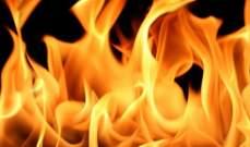 الدفاع المدني: إخماد حريق داخل سيارة في قنابة برمانا والأضرار مادية