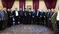 يازجي تلقى دعوة لزيارة أبرشية عكار