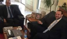 تقي الدين بحث مع سفير مصر آخر المستجدات على الساحتين الداخلية والإقليمية