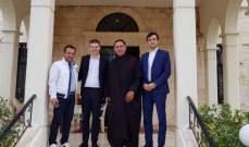 رئيس لجنة الصداقة البرلمانية الفرنسية - اللبنانية جال بالنبطية