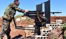 """سانا: الجيش السوري أحبط محاولة تسلل باتجاه بعض نقاطه ودمر أوكارا لـ""""النصرة"""" بريف حماة"""