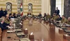 الجمهورية: اجتماع المجلس الأعلى للدفاع مخصص لبحث التطورات الأمنية