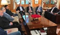 فرنجيه يلتقي اعضاء التكتل الوطني في بنشعي