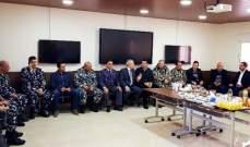محافظ عكار كرم القيادات الآمنية في عكار لمناسبة الاعياد