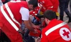اصابة رجل سوري وزوجته بحادث سير على اوتوستراد صيدا صور