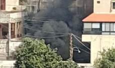 النشرة: أهالي قتيل في الدوير أشعلوا منزل القاتل في المنطقة