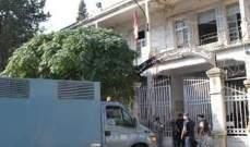 وصول تعزيزات أمنية الى سجن القبة بعد اندلاع الحريق