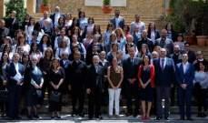 دورة تدريبية بالتعاون بين الأمانة العامة اللبنانية والأمانة العامة الفرنسية