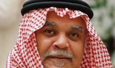 بندر بن سلطان: كنت ضمن سرب كلف بمهمة انتحارية على مدينة إيلات أثناء حرب 1973