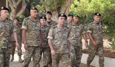 اللواء الركن ملّاك تفقد فوج التدخل الثالث: أولويتنا العمل لترسيخ الاستقرار