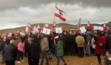 النشرة: تحركّ في عين بورضاي رفضاً لنقل مركز محافظة بعلبك الهرمل
