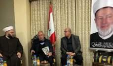 عبد الله جبري بحث مع الأمين العام للمؤتمر القومي العربي التطورات العربية