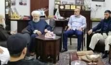 الشيخ حمود استقبل القوى الاسلامية في مخيم عين الحلوة
