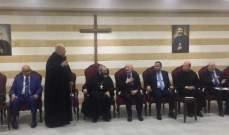 الرئيس العام للرهبانية إفتتح قاعة الاباتي باسيل الهاشم بدير مار يوحنا