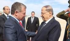 الرئيس عون التقى ملك الأردن وعباس وبوغدانوف وممثل سلطان عمان بتونس