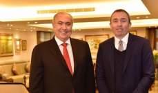 مخزومي عرض مع سفير بريطانيا الأوضاع الإقليمية والدولية