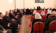 المجلس المذهبي أمل نجاح المساعي لتأليف الحكومة وحذر من الوضع الاقتصادي