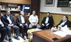 البزري التقى ممثل حركة الجهاد الإسلامي في لبنان