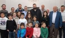 أحمد الحريري التقى أكاديمية الأهلي للشطرنج وأكد دعمه للنادي