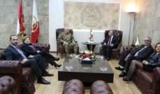 قائد الجيش العماد جوزيف عون مستقبلًا الجامعة اللبنانيّة الكنديّة – LCU