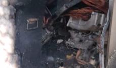 حريق في محل للادوات الكهربائية في منيارة والاضرار مادية