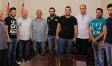 سعد بحث مشاكل مستشفى صيدا الحكومي مع وفد من لجنة موظفي المستشفى