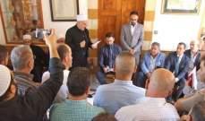 تيمور جنبلاط التقى وفدا من الجبهة الديمقراطية وبحث معه قضايا اللاجئين الفلسطينين