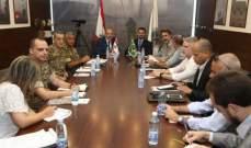 الصراف بحث مع وزير برازيلي آلية تعزيز التعاون وتطويره بين البلدين