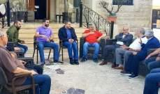 قماطي زار رئيس بلدية حارة صيدا وتم البحث في شؤون تنموية تهم البلدة