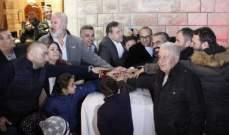 احتفال في بلدة شبطين لمناسبة عيد البربارة واضاءة زينة الميلاد