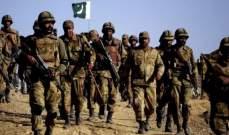 الجيش الباكستاني يعلن مقتل 15 مسلحا أثناء تسللهم إلى إيران