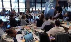 الوفد الاقتصادي اللبناني إلى أميركا شارك بورشة عمل عن منهجية التخطيط الإبداعي
