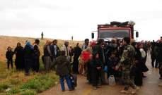 """""""سانا"""": عودة دفعة جديدة من المحتجزين السوريين من مخيم الركبان عبر ممر جليغم"""