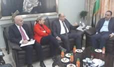 اللقيس بدأ زيارة عمل للأردن لبحث سبل التعاون الزراعي