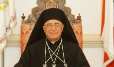 العبسي عاد من الفاتيكان:الزيارة كنسية ولا خوف من هجرة المسيحيين من الشرق الأوسط