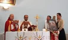المطران الحاج ترأس قداسا احتفاليا بعيد مار الياس في كوكبا:لإرساء العيش المشترك