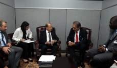 الرئيس عون: المساعدات للنازحين يجب أن تستمر حتى بعد عودتهم إلى وطنهم