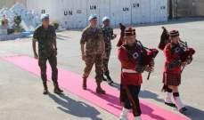 قائد اليونيفيل زار مقر قيادة الكتيبة النيبالية والكتيبة الإندونيسية