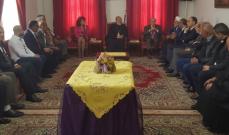 الخليل يجول على  الفاعليات الدينية في منطقة مرجعيون بمناسبة عيد الفصح