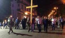 مسيرة صلاة لمناسبة عيد ارتفاع الصليب المقدس في جديدة مرجعيون