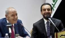 بري بعد لقائه عدداً من المسؤولين العراقيين: لتعزيز التعاون بين البلدين
