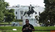 إغلاق أجزاء من البيت الأبيض بعد إضرام رجل النار في نفسه