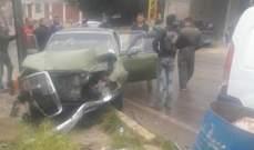 4 جرحى إثر حادثي سير في بلدة جبرايل وبلدة حرار في عكار