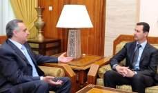 أرسلان مهنئاً الأسد: ستبقى القامة الوطنية والقومية الكبرى لهذه الأمة