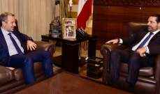 """""""OTV"""": الحريري يلتقي باسيل بهذه الأثناء في """"بيت الوسط"""" بعيدا عن الإعلام"""