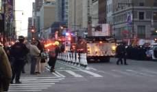 إصابة عدد من الأشخاص بانفجار بمنهاتن وإخلاء الركاب من إحدى محطات المترو