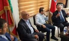 أبو فاعور: القطاع الصناعي لا يحظى بالرعاية الكافية وطموحنا ان تصبح راشيا منطقة صناعية