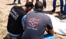 الدفاع المدني: العثور على جثة شاب قضى غرقا مقابل شاطئ الرملة البيضاء